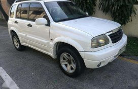 Suzuki Grand Vitara 2002 matic 4x4 gas v6 top of the line