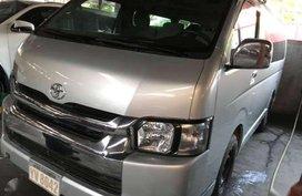 2016 Toyota Hiace Grandia SILVER Manual Transmission