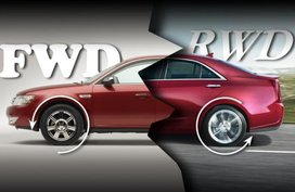 4 simple methods to tell if a car is a front-wheel drive or rear-wheel drive