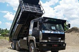 2006 Mitsubishi Fuso 10 Wheeler Dump Truck Double Differential For Sale