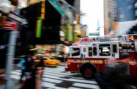 How to drive safely around emergency vehicles