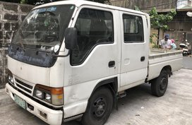 Isuzu Elf Truck Double Cab 2002 for sale