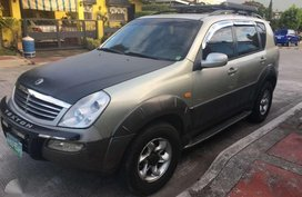 2003 SSANGYONG Rexton 290 FOR SALE