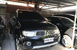 2013 MITSUBISHI Montero sport GLS V automatic diesel