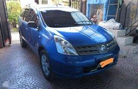 For sale Nissan Livina 2010 Cool Blue 1.8 Gasoline fuel type
