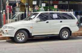 Ssangyong Musso 3.2MB 1997 for sale