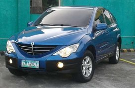 2008 Ssangyong Actyon did diesel magic for sale
