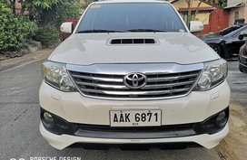 2014 Toyota Fortuner V Trd Edition for sale