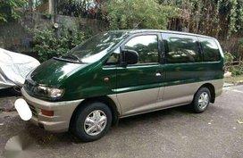 Mitsubishi Spacegear Green Silver Manual Transmission Diesel Type