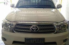 Toyota Fotuner G 4X2 MT 2011 for sale