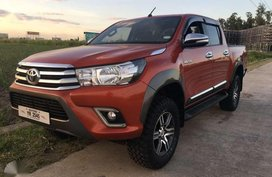 Toyota Hilux 2016 4x4 for sale