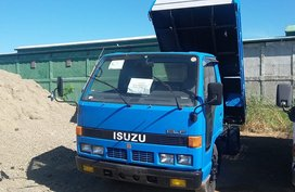 2007 4BE1 ISUZU ELF MINI DUMP TRUCK NKR 10FT. FLAT LOW. FOR SALE