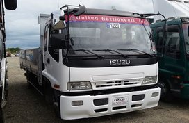 2007 ISUZU ELF 6HK1 TURBO FORWARD ALUMINUM DROPSIDE 21FT. FOR SALE