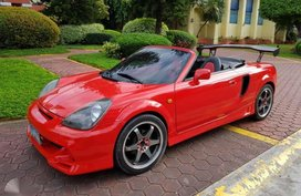 Toyota MRS Spyder 2000 Manual transmission