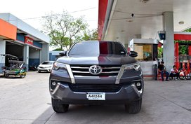 2018 Toyota Fortuner V 4X4 A/T Dark Gray 1,998,000t Negotiable