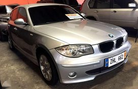 2007 BMW 118i hatchback AT automatic E87 body