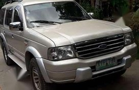 2005 Ford Everest 4x2 Automatic FOR SALE