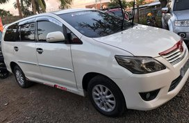 Toyota Innova 2.5G Diesel Top of the line Manual 2013
