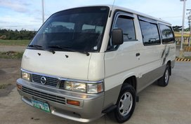 Nissan Urvan Escapade Van 2013 model Diesel Manual Lucena City