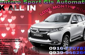 2018 MITSUBISHI MONTERO SPORT all in promo