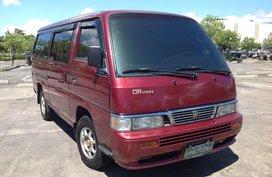 Nissan Urvan Shuttle Van 2012 model Manual Lucena City