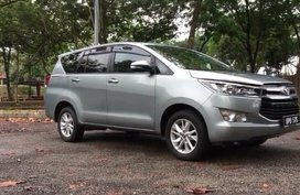 Toyota Innova E 2.0L 2018 FOR SALE