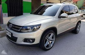 2014. Volkswagen Tiguan 2.0 TDI Automatic 4 motion