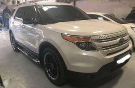 2012 Ford Explorer eco boost 20 turbo 4x4 gas at 1st own fresh in and out