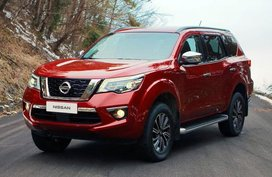Nissan Terra 2019 Philippines receives an all-new color - the Fiery Red