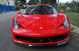 2013 Ferrari 458 Italia Local Purchased