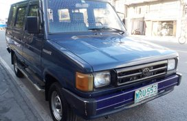 FOR SALE: 2000 Toyota Tamaraw FX Super Fresh Gas Php125,000 Only