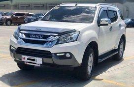 2016 Isuzu Mux 4x2 3.0L LSA Automatic White Pearl