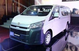 The all new Toyota Hiace commuter deluxe 2019