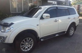 Mitsubishi Montero Glx 2014 acquired Pearl white