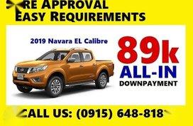 2019 NISSAN Navara EL Calibre 20% 89k All-In DP
