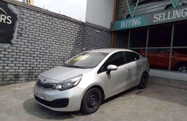 2014 Kia Rio 1.4 EX A/T Silver for sale