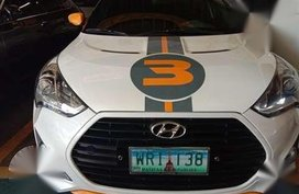 2013 Hyundai Veloster Turbo AT Gas Orig Decals From Korea