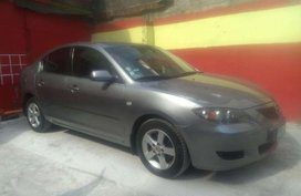 2005Mdl Mazda 3 Athomatic Gray for sale