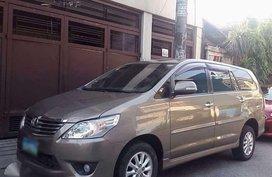 2012 Toyota Innova G Automatic Php558,000 negotiable