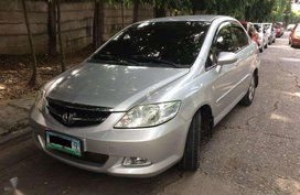 2007 Honda City 1.5 AT Silver FOR SALE