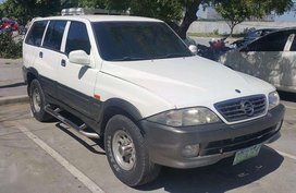 Ssangyong Musso dissel 2002 Dissel automatic