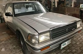 1989 Toyota Crown DELUXE MT 22L Gas 70Tkms only rush P130K