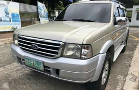 2005 Ford Everest diesel matic. fresh