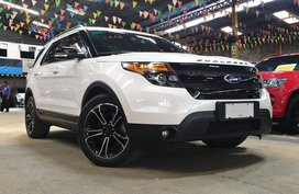 2015 FORD Explorer 3.5 Sports Edition Ecoboost AT