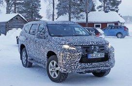 Mitsubishi Montero Sport 2019 Facelift caught in Northern Sweden