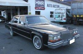 1987 Cadillac Brougham D-Elegance AT Gas
