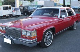 1988 Cadillac Brougham AT Gas FOR SALE