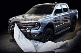 Photos of the alleged Ford Ranger 2020 leaked online