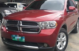 2013 Dodge Durango Crew 4x2 Gasoline  for sale