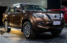 Brandnew Nissan Terra 2.5 4x2 VL AT 2019 100% approval